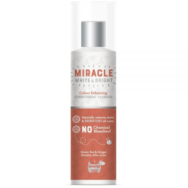 Hownd Miracle White and Bright Shampoo and conditioner